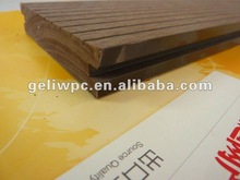 wpc solid deck floor covering wood plastic composite decking