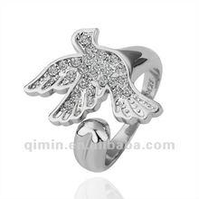 new design gold flying eagle ring