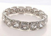 Crystal rhinestone bangle bracelet for women gift