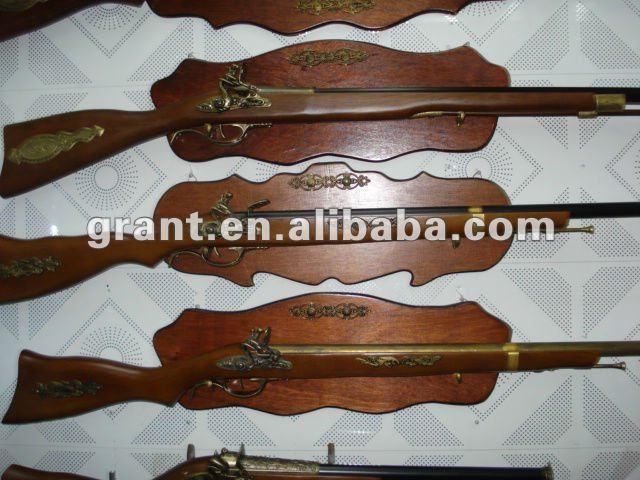 Wooden gun model