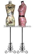 new fashion paper mache mannequin