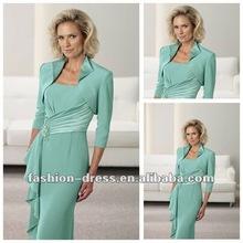 Elegant Slim Beautiful Mature Women Evening Dress