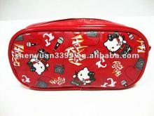2012 big size Red hellokitty design grils' pencil bag