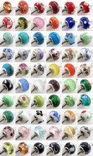 Wholesale Charm Mixed Color Lampwork Glass Beads In Bluk 151052