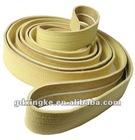 480 centigrade yellow kevlar finger joint belt with V-guide