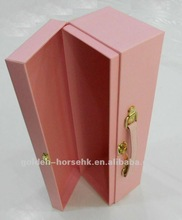 2012 Pink single packaging paper box for red wine