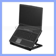Adjustable USB laptop cooler pad