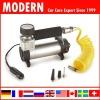 12V Metal car cylinder air pump/car air compressor/auto tyre inflator