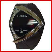 2012 Special design popular Led screen touch watch