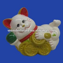 new year wholesale ceramic japan lucky cats