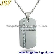 white carbon fiber tungsten pendants christian