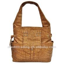 Latest Style High Quality Crocodile Women Handbag