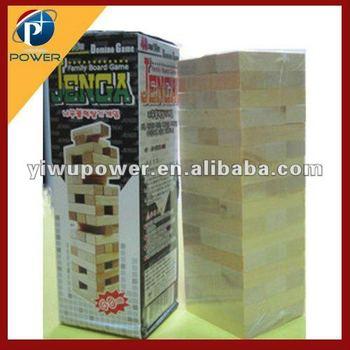Wooden puzzle jenga magic toys PW-DW-CA090