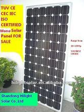 Solar photovoltaic 300 watt with TUV,CE,ISO