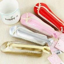 Cute Ballet Shoe Design Functional Pencil Case