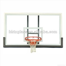 Tempered glass for basketball backboard with AS/NZS 2208:1996, BS6206, EN12150 Certificate