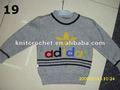 Cute baratos crianças caxemira camisola de malha, crianças camisola de malha 2012, camisola do bebê malha design ( kcc - mkk016 para 23 )