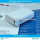 High capacity smallest volume Portable Power Bank--4400mAh Universal mobile backup charger