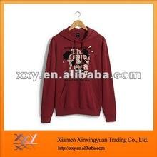 2012 Men's Hot Sale 100% Cotton Hoodie