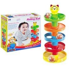 bricks toy educational toy rolling ball set