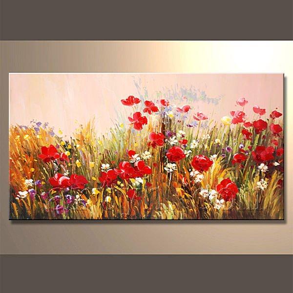 Vente chaude main facile peinture de paysage peinture et calligraphie id du p - Tableau acrylique facile ...