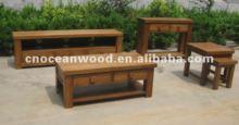 Solid Oak Wooden Dinner Set, oak furniture manufacturer