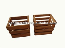 Low price wooden crates