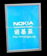 Good Quality A1 A2 A3 A4 acrylic LED Aluminum desk picture frame