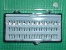 2012 best seller real Siberian mink fur individual eyelash extensions brown color