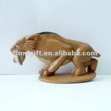 Custom plastic PVC material toy animal leopard model