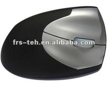 high resolution dpi adjustable optical computer 2.4g vertical mouse