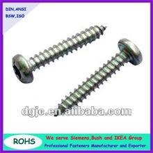 Aluminum pan head sheet metal screws
