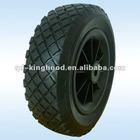 Pu polyurethane tyre,puncture proof wheelbarrow wheel 3.5-6