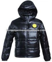 2012 fashion Mens shiny sport duck Down Jacket