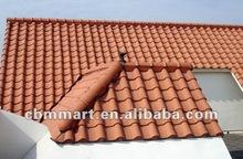 Ceramic roof tile for villa