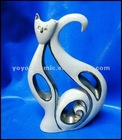 porcelain abstract cat