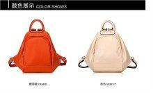 2012 fashion PU leather backpacks
