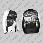 pro custom printed rash guard mma