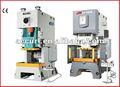 C - quadro prensas pneumáticas power com mesa fixa, horizontal do virabrequim, segurança válvula duplex