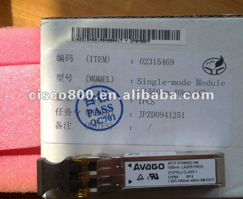 Brand New CISCO Network Router Module GLC-FE-100LX=,F/S,1 year warranty!