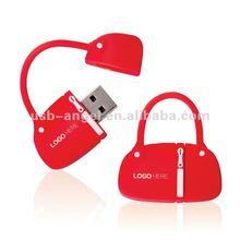 fashion cute shopping bag custom usb flash driver