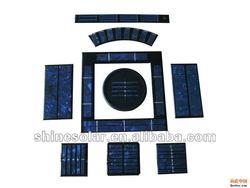 mini epoxy solar panel / 3V Monocrystalline Epoxy Solar Panel