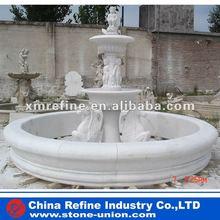 White marble fountain pen