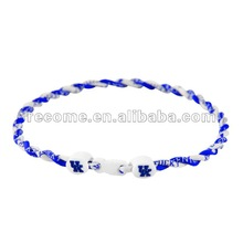 NCAA College Kentucky Wildcats titanium twist Necklace all teams mixed for order