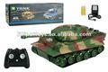 Panzer del tanque del rc modelo a escala 1:26 realista con los sonidos y luces