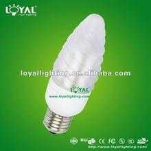 2012 New Energy Saving ESL candle bulb 5/7/9/11W (CE&RoHS)