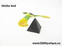 small plastic birds balancing bird