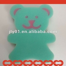 Animal shaped fish shaped baby bath sponge