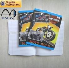 creative notebook book cover design to Singapore market