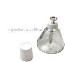 Anti-static glass alcohol bottle